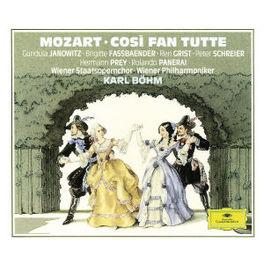 COSI FAN TUTTE JANOWITZ/FASSBAENDER/PREY/SCHREIER Audio CD, W.A. MOZART, CD