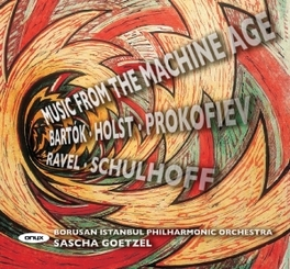 MUSIC FROM THE MACHINE AG S.GOETZEL BORUSAN ISTANBUL PHILHARM, CD