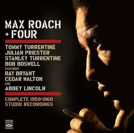COMPLETE 1959-1960 STUDIO RECORDINGS // 4LP'S ON 2 CD'S ROACH, MAX & FOUR, CD