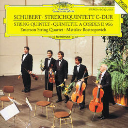 QUINTET IN C EMERSON STRING QUARTET/MSTISLAV ROSTROPOVICH Audio CD, F. SCHUBERT, CD
