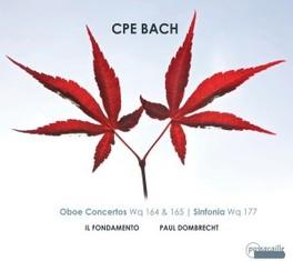 OBOE CONCERTOS IL FONDAMENTO/P.DOMBRECHT C.P.E. BACH, CD