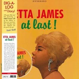 AT LAST! -LP+CD/HQ- 180GR. ETTA JAMES, Vinyl LP