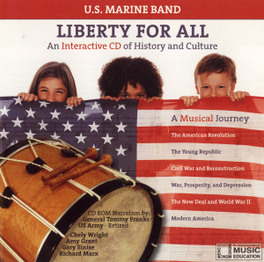 LIBERTY FOR ALL U.S. MARINE BAND, CD