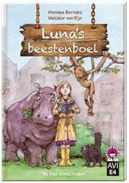Luna's beestenboel Hoera, ik kan lezen!, Berndes, Monique, Hardcover
