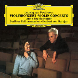 VIOLIN CONCERTO OP.61 BERLINER PHILHARMONIKER/HERBERT VON KARAJAN/MUTTER Audio CD, BEETHOVEN, L. VAN, Audio Visuele Media