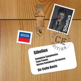 SYMPHONIES & TONE POEMS BSO/COLIN DAVIS J. SIBELIUS, CD
