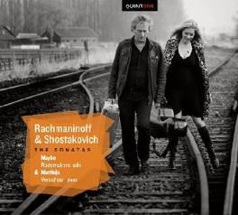 SONATAS MAYKE RADEMAKERS/MATTHIJS VERSCHOOR RACHMANINOV/SHOSTAKOVICH, CD