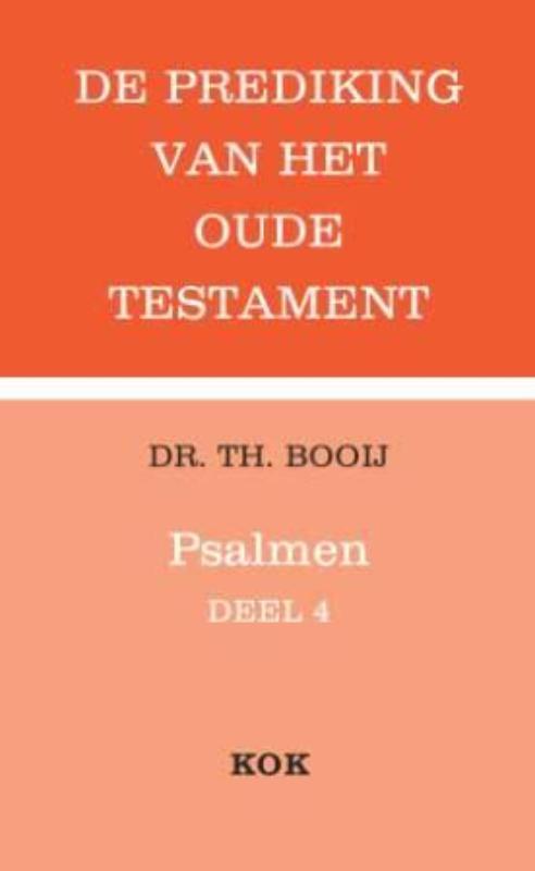 Psalmen: 4(111-150) serie POT, Thijs Booij, Paperback