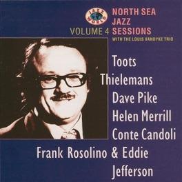 NORTH SEA JAZZ SESS.4 T.THIELEMANS/DAVE PIKE/HELEN MERRILL/EDDIE JEFFERSON Audio CD, V/A, CD