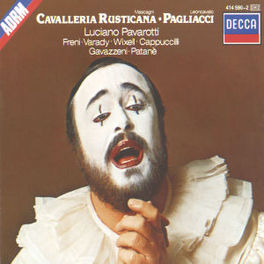 PAGLIACCI/CAVALLERIA RUST PAVAROTTI/NAT.PHIL.ORCH./GAVAZZENI Audio CD, MASCAGNI/LEONCAVALLO, CD