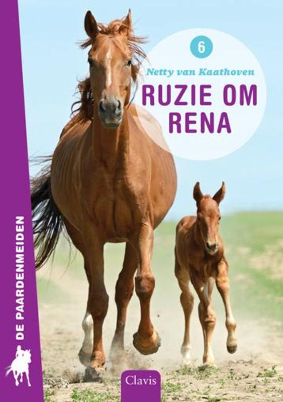 Ruzie om Rena De paardenmeiden, Kaathoven, Netty Van, Hardcover