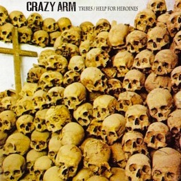 7-TRIBES + DOWNLOAD/ HELP FOR HEROINES CRAZY ARM, 12' Vinyl