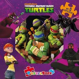Puzzelboek Ninja Turtles, Hardcover