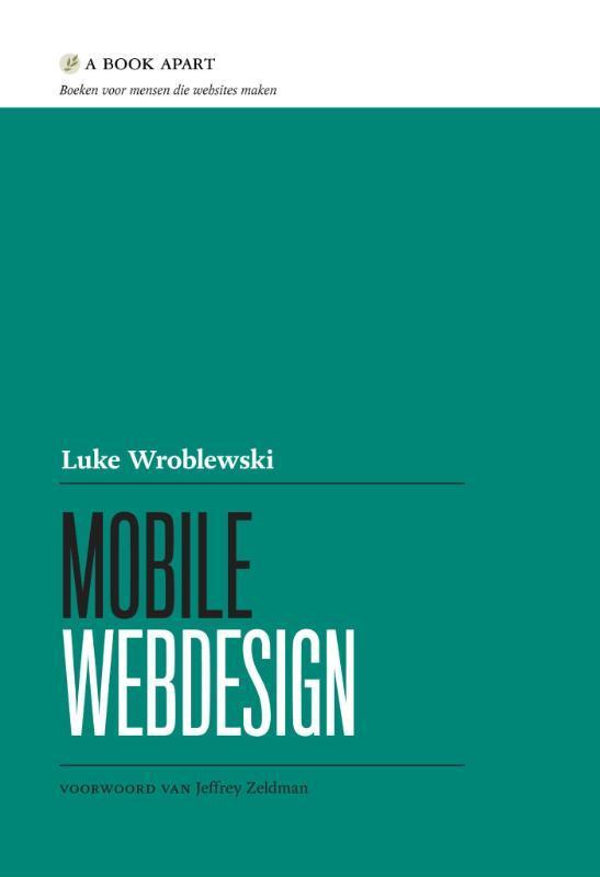 Mobile webdesign Wroblewski, Luke, Paperback