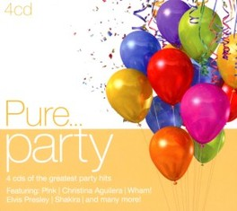 PURE... PARTY -DIGI- 4 CDS OF THE GREATEST PARTY HITS V/A, CD