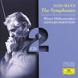 4 SYMPHONIES WP/BERNSTEIN Audio CD, R. SCHUMANN, CD