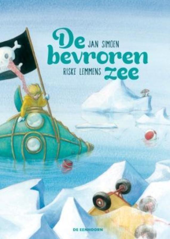 De bevroren zee Jan Simoen, Hardcover