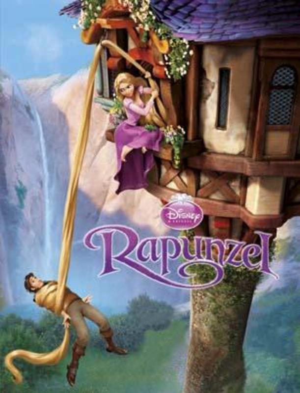 Disney Rapunzel Met origineel Disney DVD omslag! Het verhaal van de film in boekvorm, Hardcover
