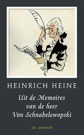 Uit de memoires van de heer von Schnabelewopski Heinrich Heine, Hardcover