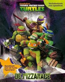 De pizzarace Ninja Turtles, Paperback