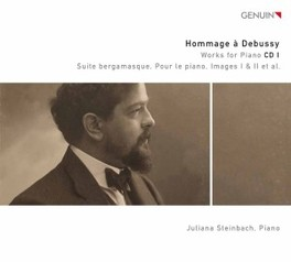 SUITE BERGAMASQUE JULIANA STEINBACH C. DEBUSSY, CD