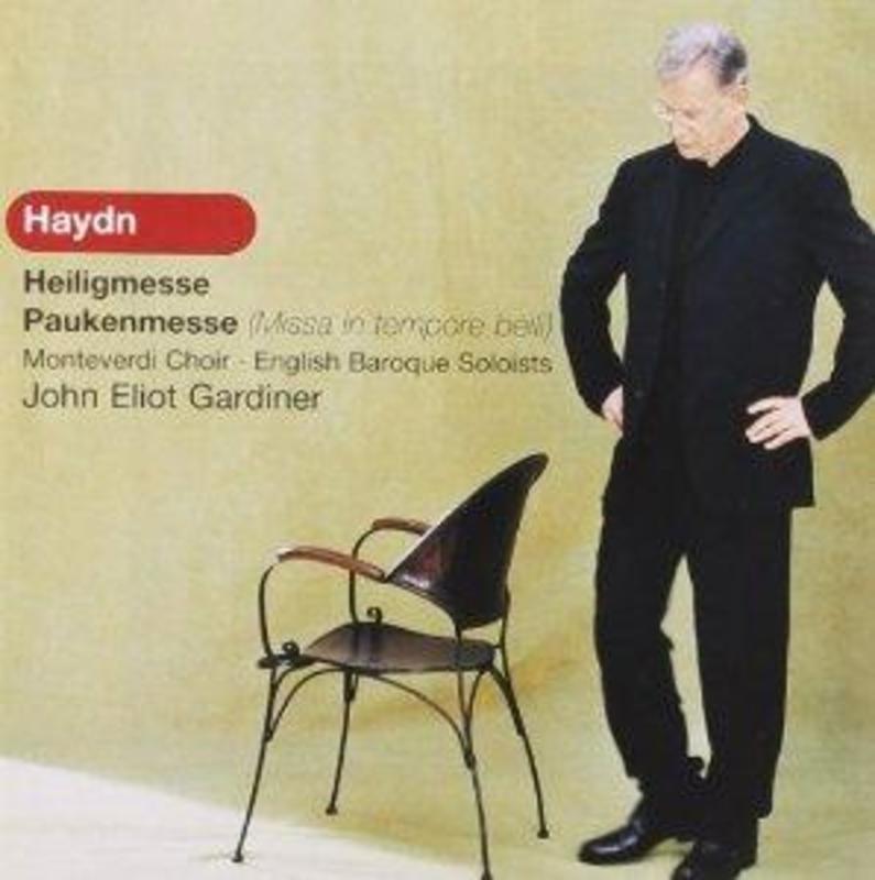 HEILIGMESSE/PAUKENMESSE ENGLISH BAROQUE SOLOISTS, MONTEVERDI CHOIR Audio CD, HAYDN, J., CD