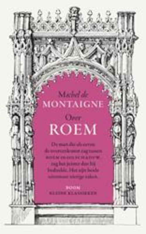 Over roem Kleine Klassieken, Michel de Montaigne, Paperback
