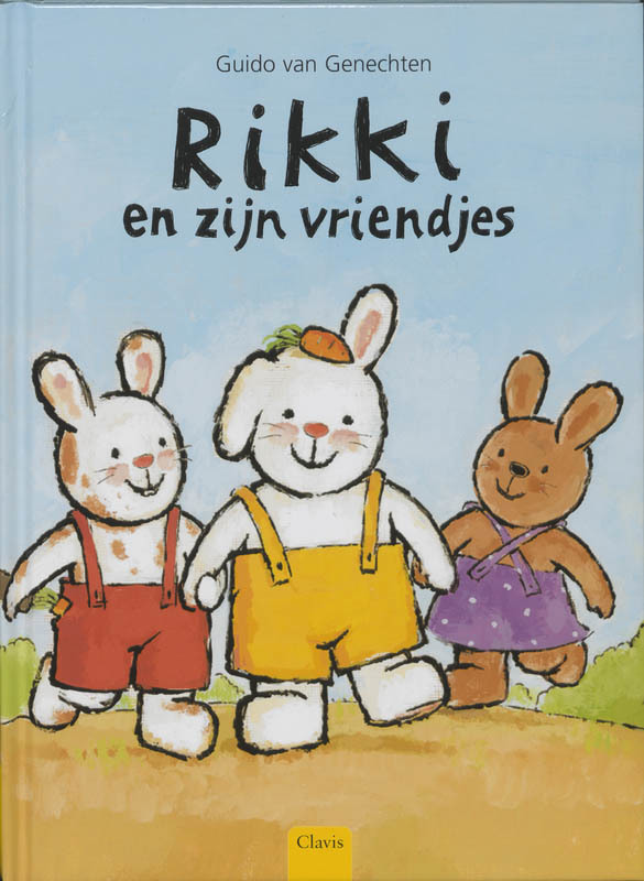 Rikki en zijn vriendjes. Van Genechten, Guido, Hardcover