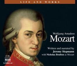 LIFE & WORKS JEREMY SIEPMANN/NICOLA BOULTON MOZART/SIEPMANN, CD