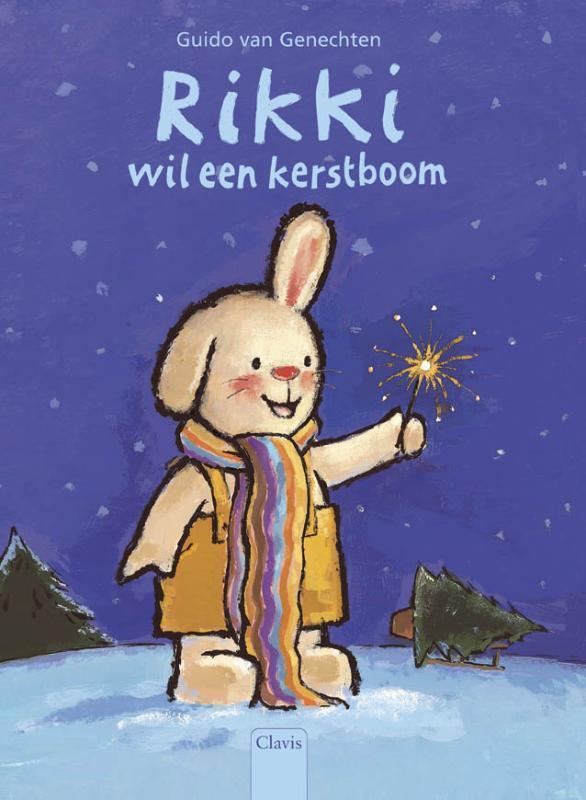 Rikki wil een kerstboom Guido Van Genechten, Hardcover