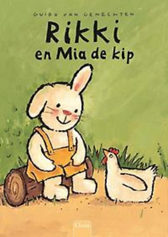 Rikki en Mia de kip Guido Van Genechten, Hardcover