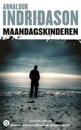 Maandagskinderen Arnaldur Indridason, Paperback