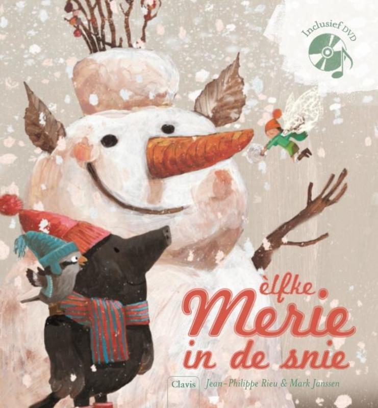 Merie in de snie Jean-Philippe Rieu, Hardcover