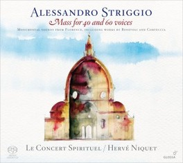 MASS FOR 40 AND 60 VOICES LE CONCERT SPIRITUEL/HERVE NIQUET A. STRIGGIO, CD
