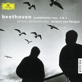 SYMPHONIES NO.5&7 BERLIN P.O./HERBERT VON KARAJAN Audio CD, L. VAN BEETHOVEN, CD
