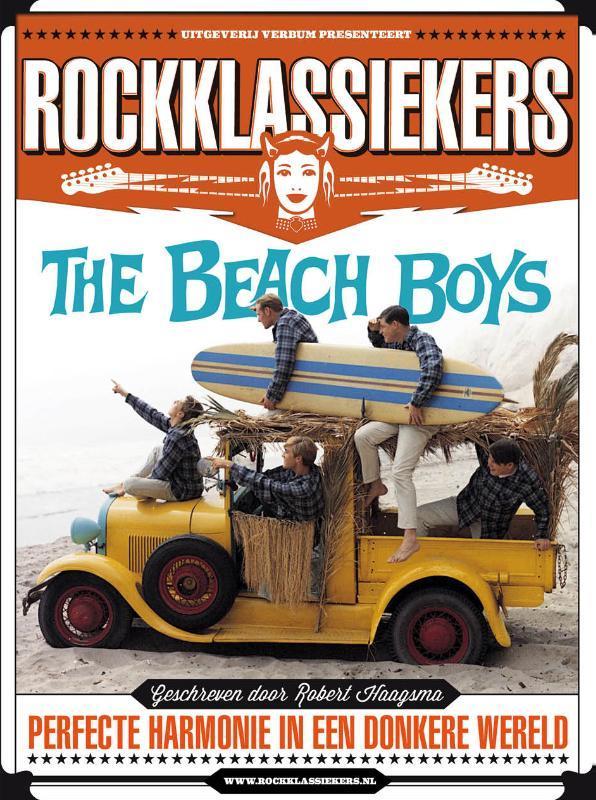 The Beach Boys perfecte harmonie in een donkere wereld, Haagsma, Robert, Paperback