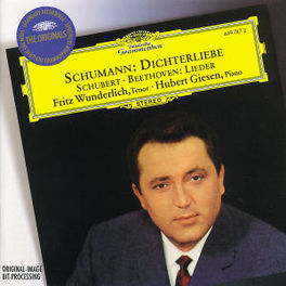 4 LIEDER FRITZ WUNDERLICH/HUBERT GIESEN Audio CD, L. VAN BEETHOVEN, CD