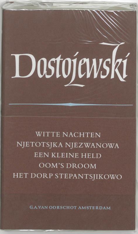 Verzamelde werken: 2 vijf romans Russische Bibliotheek, Dostojevski, Fjodor M., Hardcover