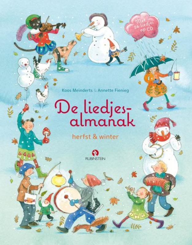 De liedjesalmanak herfst en winter, Meinderts, Koos, Hardcover