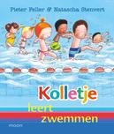 Kolletje leert zwemmen