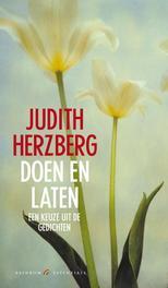 Doen en laten een keuze uit gedichten, Judith Herzberg, onb.uitv.