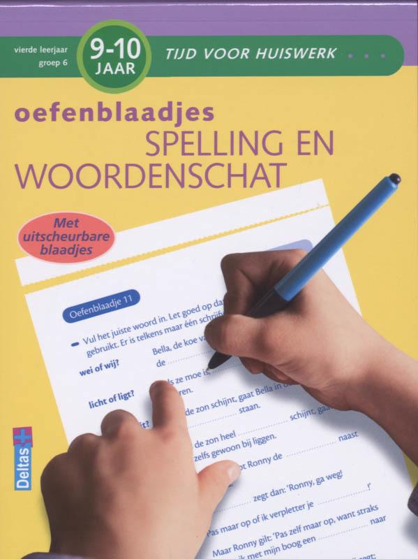 oefenblaadjes 9-10 jaar: spelling