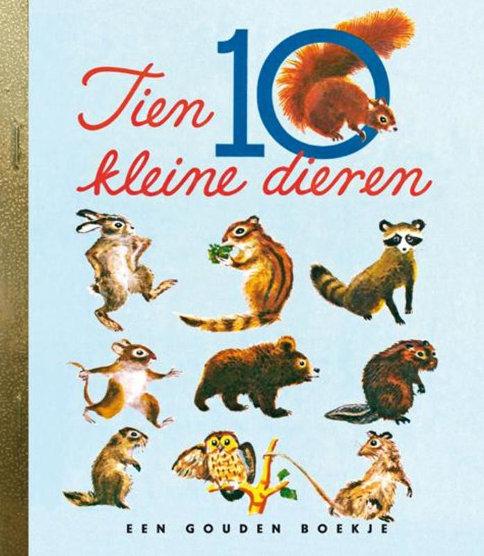 Tien kleine dieren Gouden Boekjes, Memling, Carl, onb.uitv.