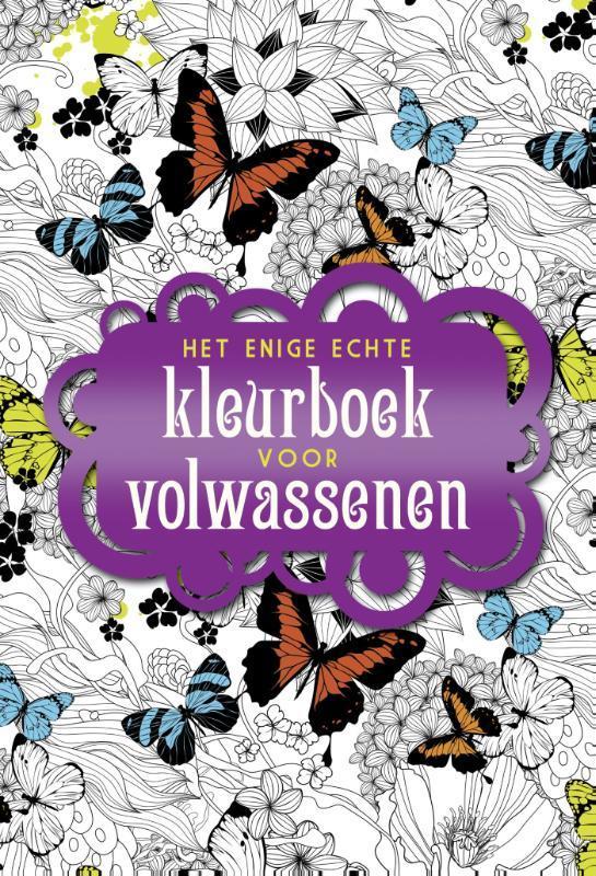 Het enige echte kleurboek voor volwassenen Paperback