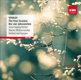 FOUR SEASONS WIENER PHILHARMONIKER/HERBERT VON KARAJAN A. VIVALDI, CD