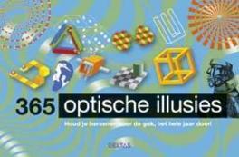 365 optische illusies houd je hersenen voor de gek... het hele jaar door!, Paperback
