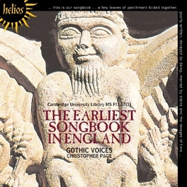 EARLIEST SONGBOOK IN ENGL C.PAGE GOTHIC VOICES, CD