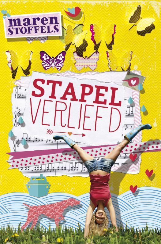Stapelverliefd Stoffels, Maren, Hardcover