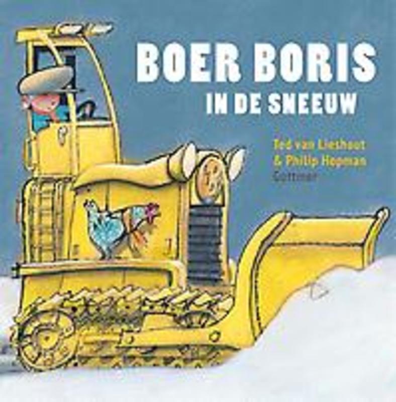Boer Boris in de sneeuw Van Lieshout, Ted, Hardcover