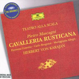 CAVALLERIA RUSTICANA W/FIORENZA COSSOTTO, CARLO BERGONZI, SCALA CHOIR & ORCH Audio CD, P. MASCAGNI, CD